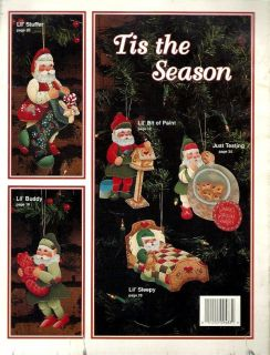 Tole Painting Pattern Book~HAVE A MERRY LIL CHRISTMAS~Betty Lindquist