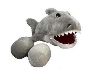Kyjen Plush Puppies Egg Babies Shark Dog Squeak Toy