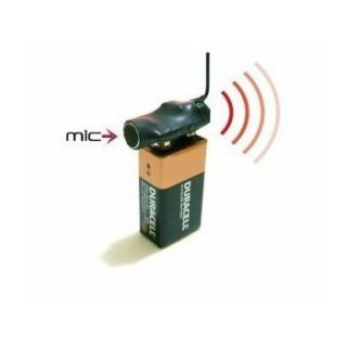 Wireless Bug Covert RF FM Spy Audio Listening Device