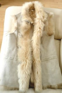 Michael Kors MK Italy Toscana Lamb Shearling Sheepskin Fur Leather