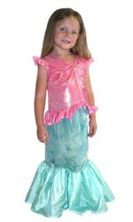 Little Adventures Magical Mermaid Ariel Dress Up Halloween Costume New