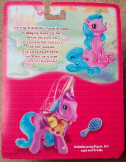 NEW 2003 My Little Pony ROYAL RIBBON Fairy Princess MINT NRFB RETIRED