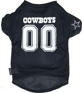 Dallas Cowboys NFL Large Pet Football Jersey Dog Cat
