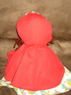 Little Red Riding Hood Wolf Topsy Turvy Story Doll
