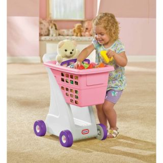 Little Tikes Role Play Shopping Cart in Pink 615344