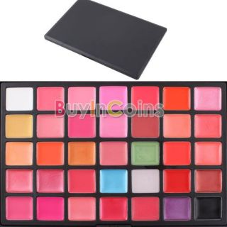 35 Color Lips Gloss Lipsticks Makeup Cosmetics Palette