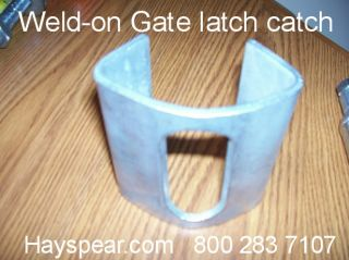 Spring Loaded Cattle Corral Gate Latch Catch 5 Pair