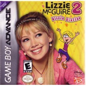 Lizzie McGuire 2 Lizzie Diaries Game Boy Advance GBA DS Game Only