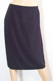 Liz Claiborne Navy Blue Skirt Jacket Suit 14