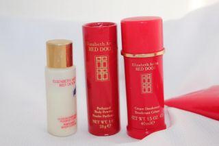 ... Elizabeth Arden Red Door Perfume Deodorant Cream Powder ...