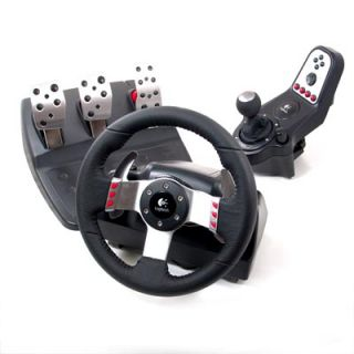 Logitech G27 Racing Wheel w/Pedal+Speed Shifter PC/PS2/PS3, 941 000045