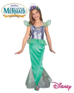 Little Mermaid Prestige Ariel Child Costume Small 4 6