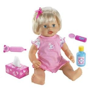 Fisher Price Little Mommy Baby AH Choo Doll 4 Girls