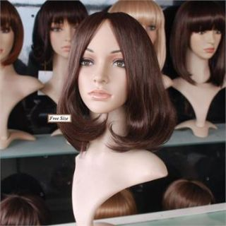 Classical women lady lovely big scalp full wig wigs,100% top quality