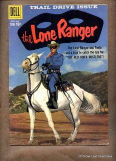 1959 Dell Comic Book Lone Ranger 127 Photo Cover VF