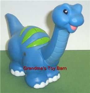 Fisher Price Little People Dino Brontosaurus Dinosaur