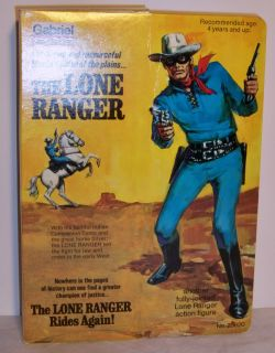 Gabriel Lone Ranger Action Figure Nice Complete w Box