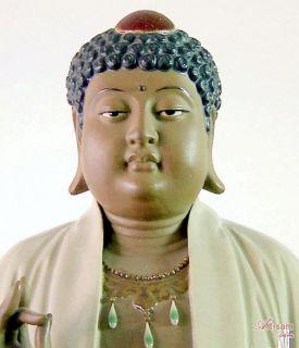 Buddha Ceramic Statue Figurine by Master Liu ZE Mian Limited