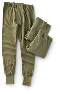 Unissued German Military Long Johns Thermal Underwear Unisex Mens