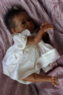 SO REAL ETHNIC BI RACIAL REBORN BABY DOLL   OOAK LESLEY (Saoirse kit