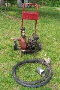 WATER PUMP BRIGGS & STRATTON MOTOR 2  WORKS PICK UP LONG VALLEY NJ
