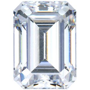 Loose Diamond 1 00 Carat H VS1 Emerald Cut 100 Natural Certified