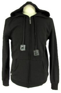 Hoodie Buddie  Earbuds Zipper Sweatshirt Choose Black Green Red s M