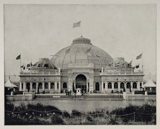 1893 Chicago Worlds Fair Horticultural Building Dome Original