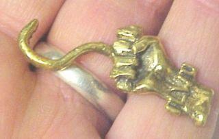 Longshoreman Warehouse  I D Badge Pin Brass Ilwu