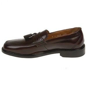 Bostonian Longford Mens Dress Shoes Burgundy Tassel 9 5
