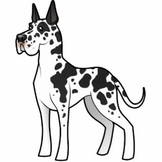 Cartoon Great Dane Photo Cutout