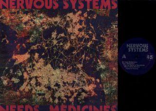 Nervous Systems Needs Medicines 2009 Shoegaze Noise Pop Punk LP