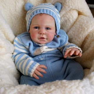 Reborn Skylar Prototype Oh So Real Baby Boy Doll Such A Cutie