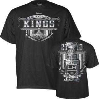 Los Angeles Kings Reebok 2012 Stanley Cup Champions Banner Season T