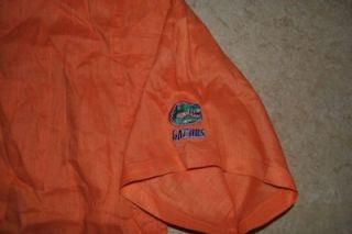 Cutter and Buck Short Sleeve Shirt Button Front Linen Florida uf