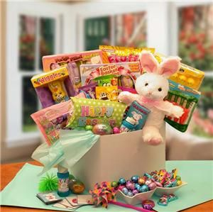 Easter Basket Peter Cottontails Easter Candy Bouquet