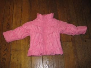 London Fog Baby Girl Size 2T Pink Winter Jacket