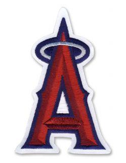 Los Angeles Angels of Anaheim Silver A Halo MLB Jersey Logo Emblem