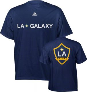 Los Angeles Galaxy Navy Adidas Soccer Primary One T Shirt