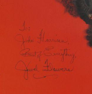 Rolf Armstrong 1942 Jewel Flowers Autographed Calendar Complete Framed