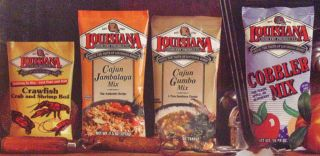 Louisiana Fish Fry Products 10 Item Cajun Gift Box New in Box