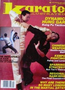 86 Karate Magazine Hung Gar Wing Lam John Longstreet