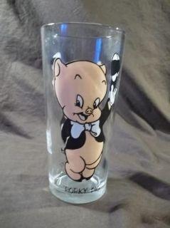 Warner Bros Pepsi Glass Porky Pig Collector Series Looney Tunes