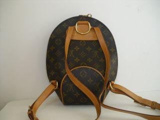 Louis Vuitton Monogram Ellipse Backpack Bag Discontinued Item