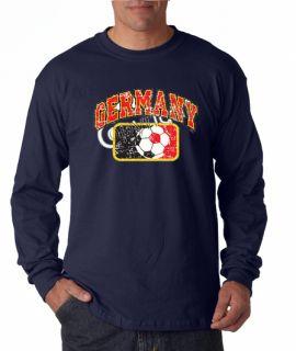 Germany Soccer World Cup Long Sleeve Tee Shirt