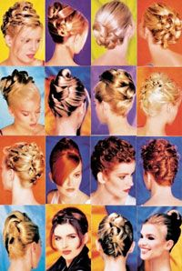 dvd 2 dvd set 20 up styles for short medium and long hair smooth or