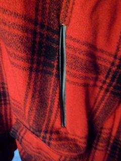 Vintage 50s Red Black Woolrich Hunting Buffalo Plaid Lumberjack Wool