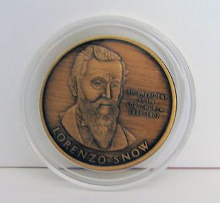 MEDAL LDS MORMON PRESIDENT LORENZO SNOW   PERSECUTION OF THE SAINTS