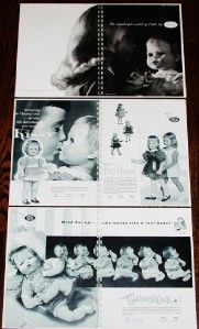 1961 Ideal Doll Dealer Catalog Kissy Thumbelina Dolls