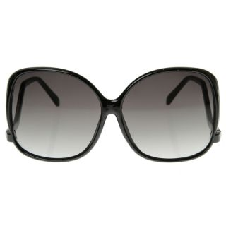 Womens Large Oversized Square Low Temple Fashion Sunglasses